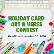 holiday card contest art