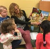 reading to kindergarten