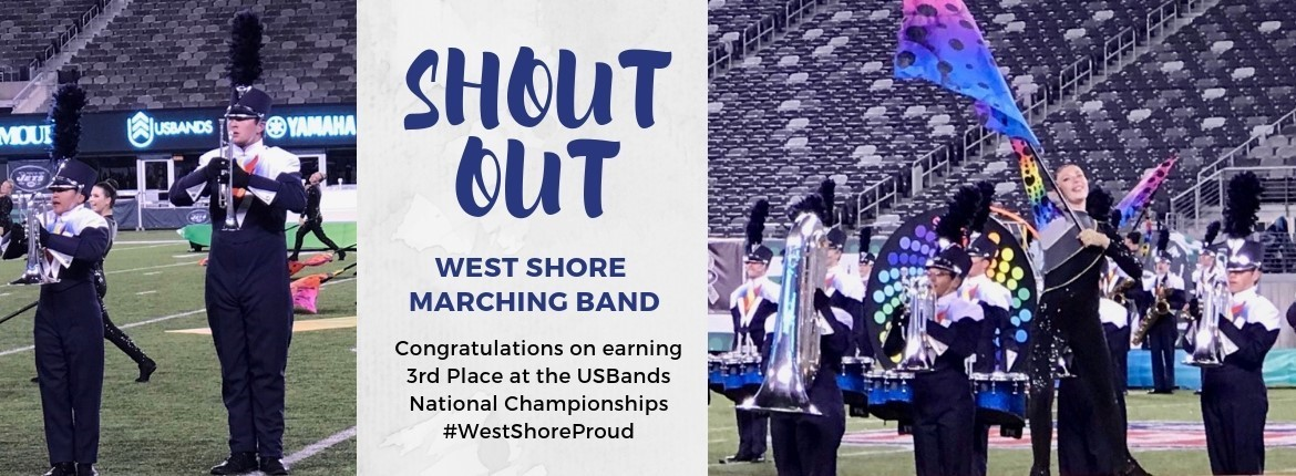 Marching Band won 3rd at Nationals