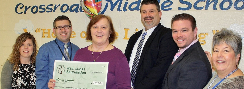 West Shore Foundation Educator Innovation Grant Award Recipients
