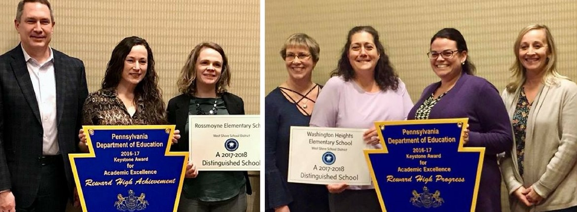 Rossmoyne and Washington Heights receive award