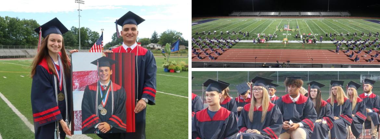 red land graduation