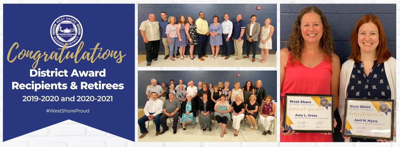 retirees and award honorees