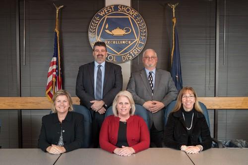 Standing: Dr. Stoltz, Mr. Burnheimer Seated: Mrs. Stuck, Dr. Whye, Mrs. Tabachini