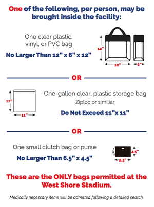 Bag Policy Graphic