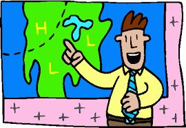 Weather Man Map
