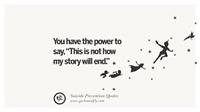 anti-suicide quote