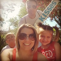 My family and I at Hershey Park!