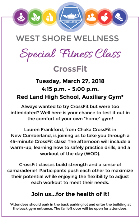 crossfit class march 27
