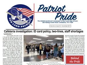 Patriot Pride - November 2019 - Front Page