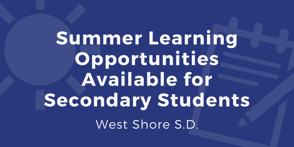 Summer Learning Opportunities Graphic