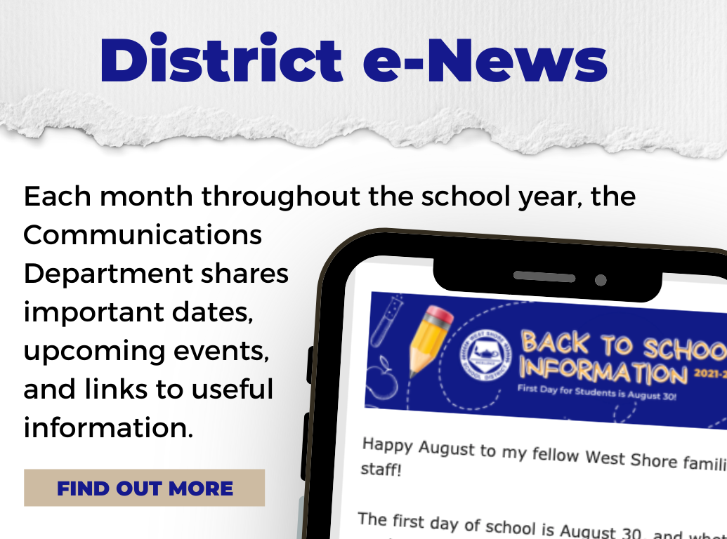 Click here to read the latest e-News.