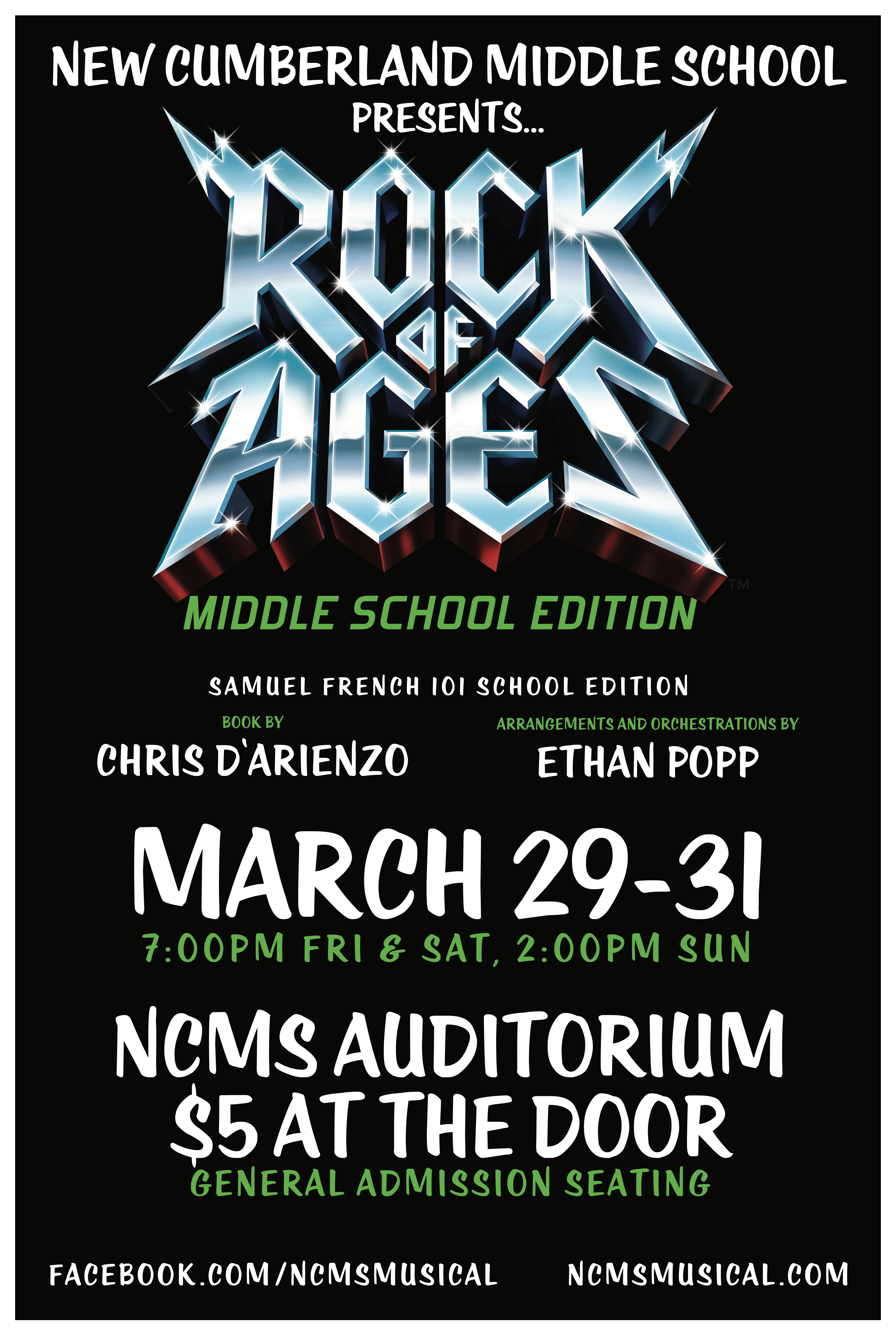 Rock of ages poster